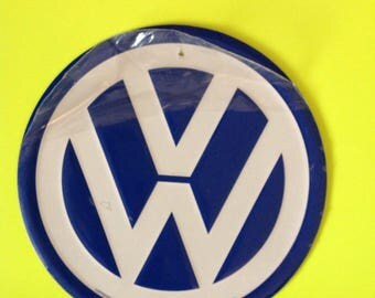 VW Sign / Volkswagen Sign / Wall Sign