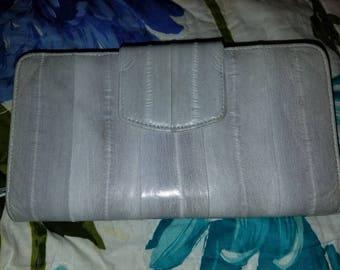 Lee Sands Vintage Eel skin wallet