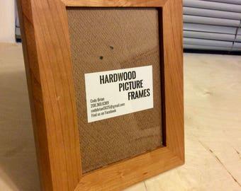 Cherry Hardwood Picture Frame (5X7)