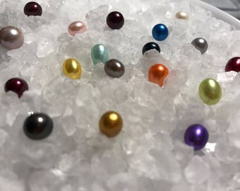 Loose Freshwater Cultured Pearls New Designer Colors, Bright New Colors