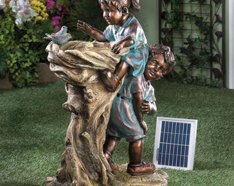 CHILDREN SOLAR FOUNTAIN