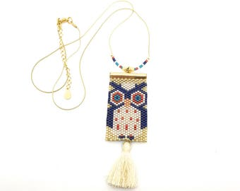 Necklace OWL ByVanesse