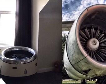 1969 BAC 1-11 Jet engine chair