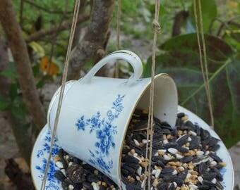 Tee Cup Bird Feeder