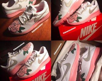 Women's Rose Nike Tanjuns