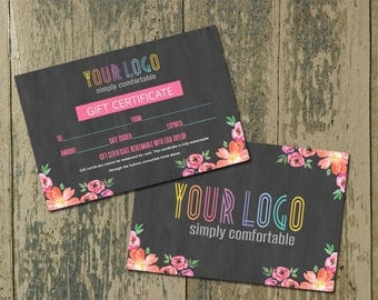 """Gift Certificate, Home Office Approved, Surprise Gift Card - Consultant Gift, 4x6"""""""
