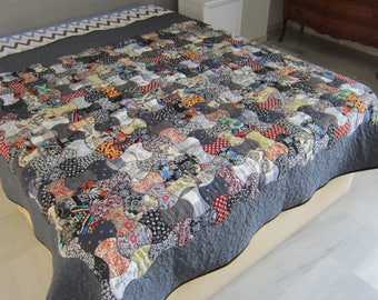 Quilt patchwork bed 90.
