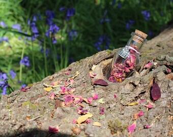 Botanical Bottle with Charm