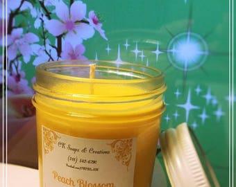 Peach Blossom 8 oz Candle