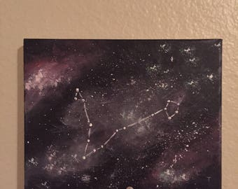 Pisces Constellation Painting