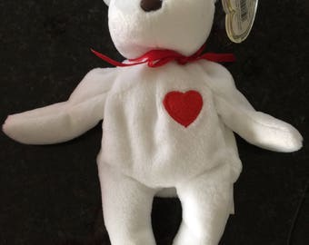 Valentino bear beanie baby
