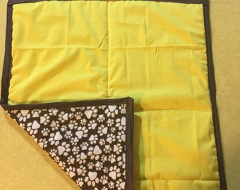 Banana Yellow Blanket