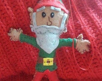 Elf Christmas decoration