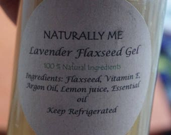 Lavender Flaxseed Gel