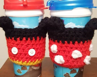 Mickey and Minnie Crocheted Cozy