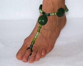 Ankle beach sandal beach jeweler