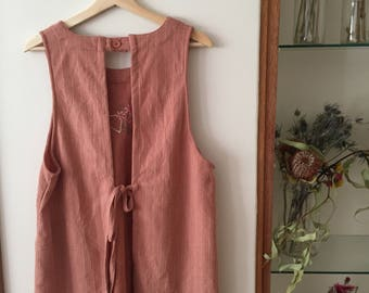 Cute Pinafore Dress