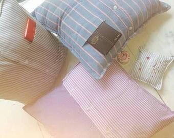 Upcycled cushion