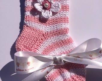 Baby socks, Knitted socks, Cotton socks, Newborn socks, Baby booties, Baby gift