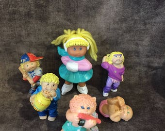 Vintage Cabbage Patch kid doll figures figurines