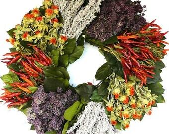 Southwest Herb Wreath | Herb Wreath | Wreath |