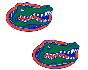 Florida Gators Indoor / Outdoor 12 inch Wall Cornhole Decals / Set of 2