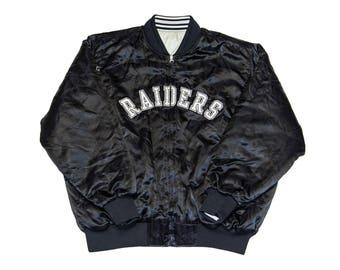 Raiders Reversible Bomber Jacket (Large)
