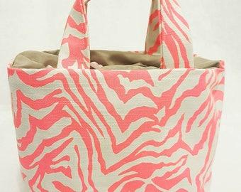 Pink Zebra Lunchbag