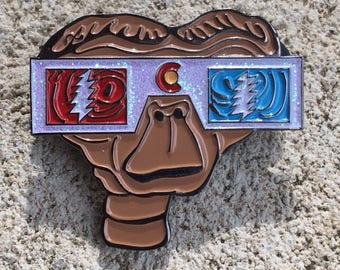 E.T. Grateful Dead Pin - FREE SHIPPING