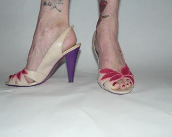 Poetic License heels- perfect for summer! Size 7 1/2.