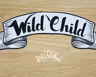 Wild Child XL Patch