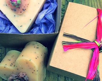 Heart Handmade All Natural Soap Gift Box 50g