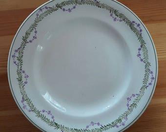 "Plates Longwy ""Loridan"", lot of 5 assietttes"
