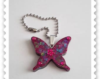 Key ring Butterfly