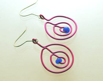 Eccentric Concentric Earrings