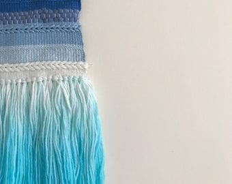 Blue wall weave