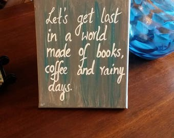 Let's get lost in a world of books