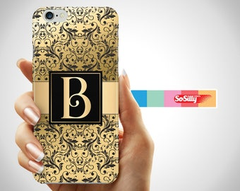 Personalized phone case iPhone 7, iPhone 6 personalized case, personailzed case iPhone 6 Plus, personalized iPhone cases, personalized gold
