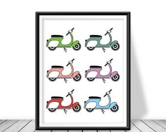Shabby chic wall decor clip art