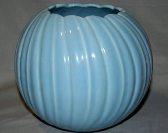 Rare Early Bauer Pottery Atlanta Swirl Art Bowl