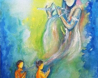 Krishna Comes