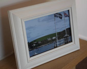 Flying Flags in Falmouth, Cornwall (Bantham Frame)