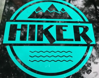 Sticker Co. HIKER Decal