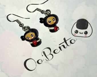 Kawaii Ninja Earrings