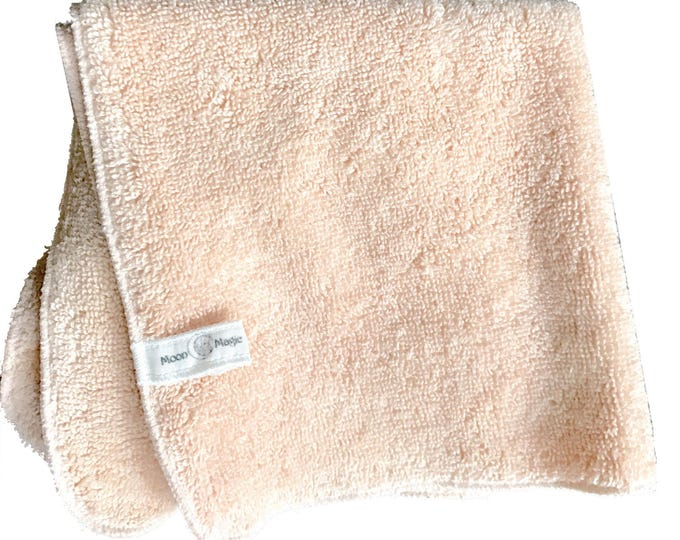 Peach Tonic, Organic Herbal Washcloth for Oily skin care. Nourish with Nature