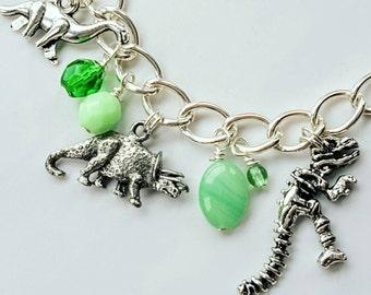 Dinosaur Dig Charm Bracelet