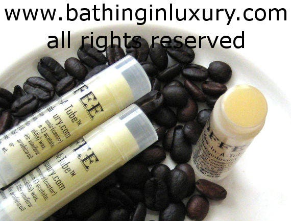 Coffee Lip Balm Gift for Men or Women - Featured on Fine Dining Lovers and Huffington Post San Francisco Made  in USA