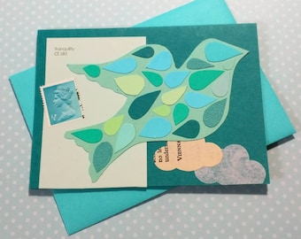 Blue Bird (Tranquility) // Cards For All Occasions