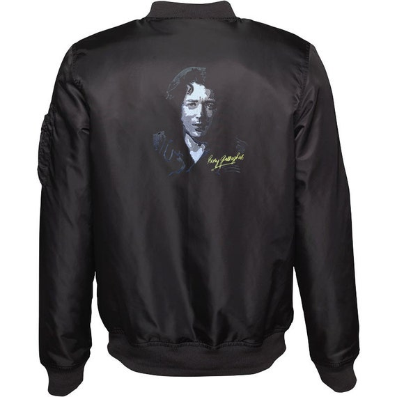 Women's Embroidered Bomber Jacket - Rory Gallagher