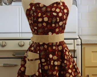Retro Sweetheart Apron Chocolates - BELLA